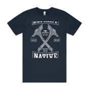 DN8V UHI PATCH - Mens Block T shirt